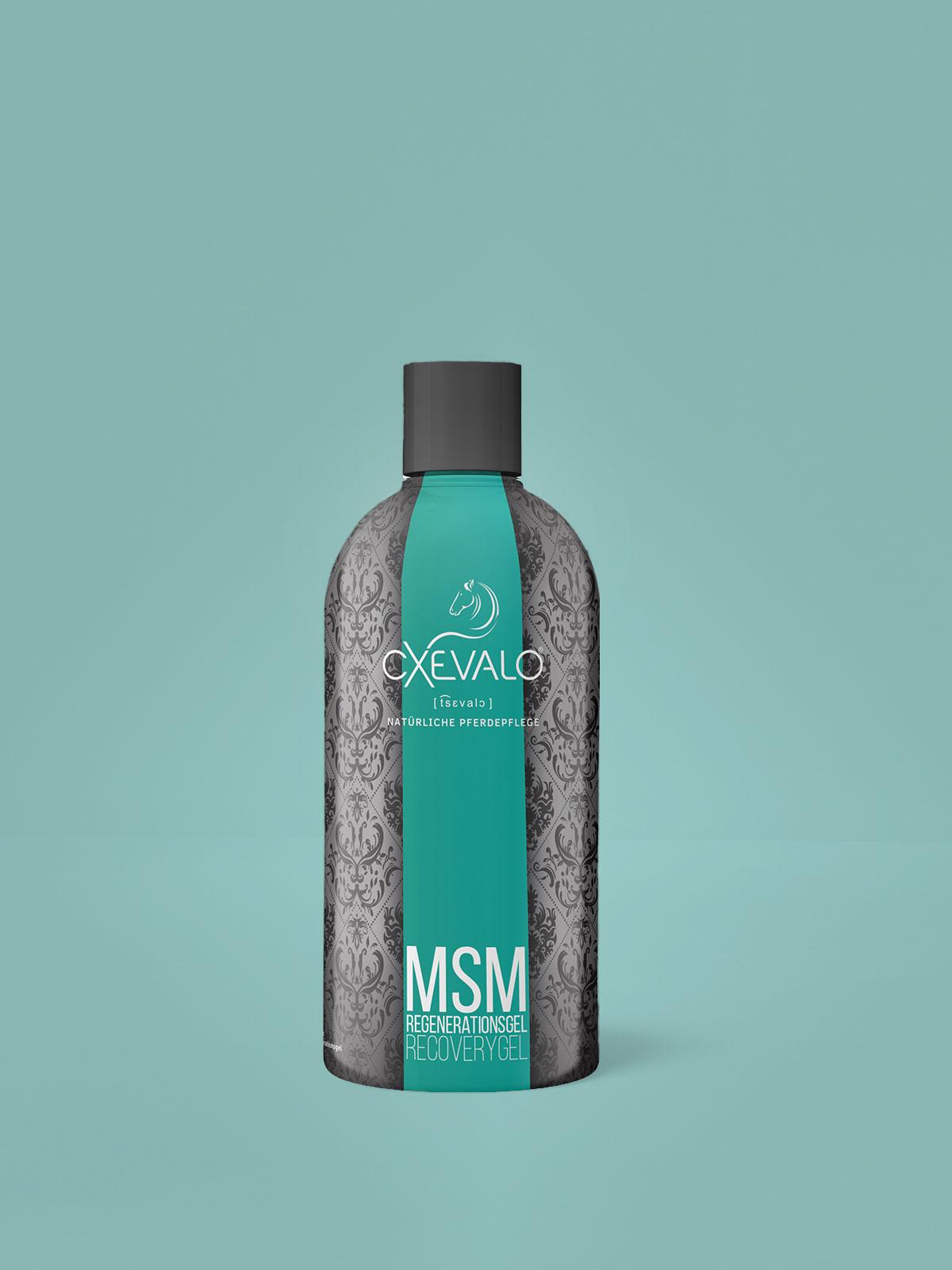 MSM Regenerationsgel - Gesunde Sehnen, Bänder, Muskeln und Gelenke dank organischem Schwefel und Teufelskralle!