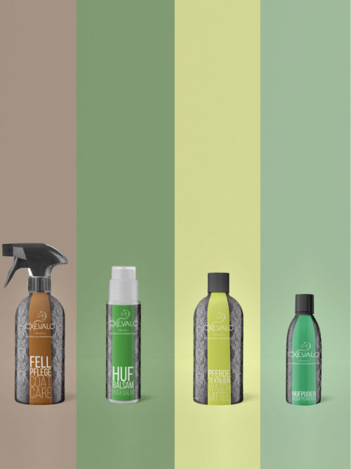Winter Horse Care Kit - For the care and health of the hooves, the horse coat and for the cleaning of the horse blankets