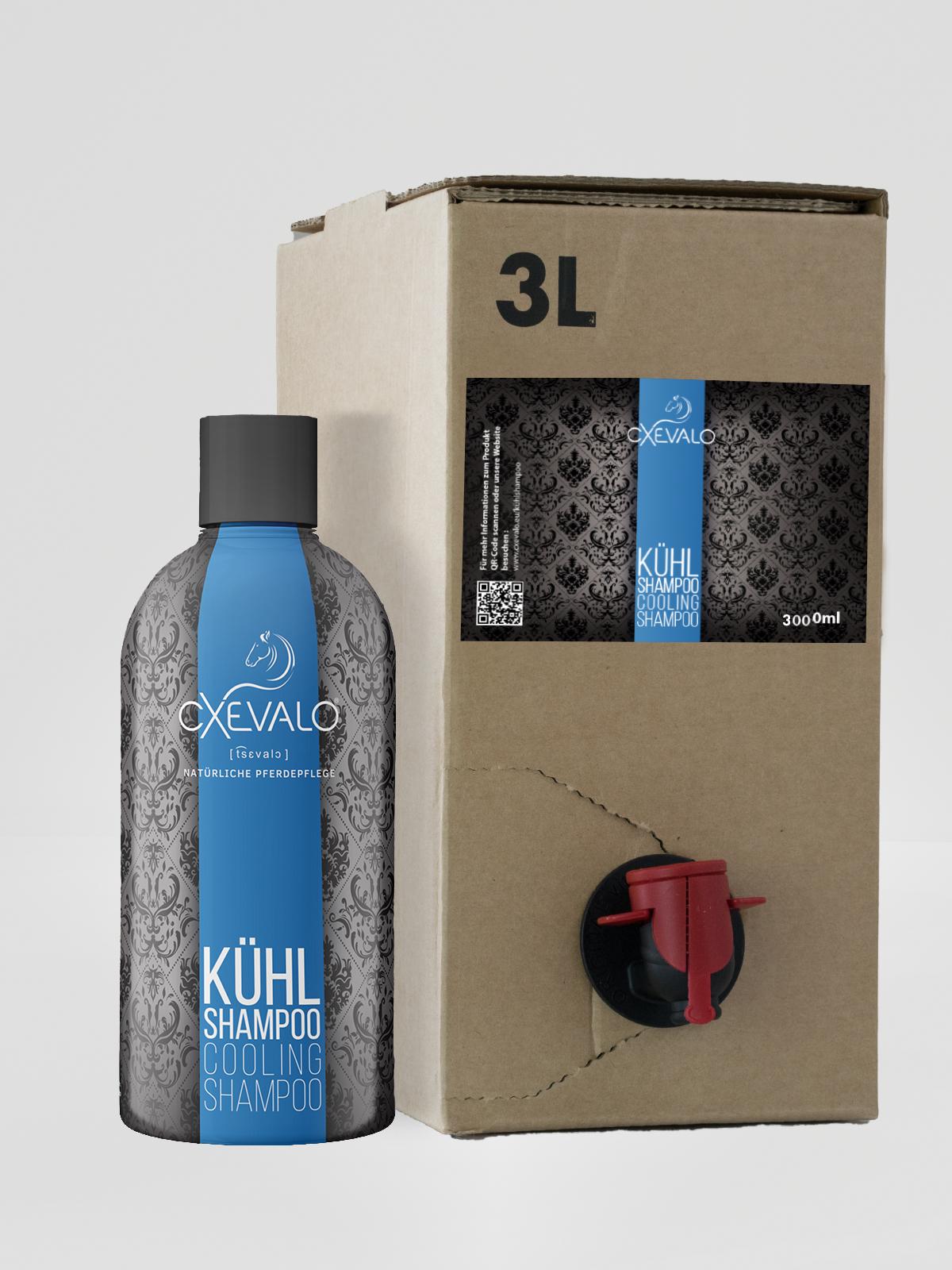 Kühlshampoo 3L Nachfüllpackung + 500ml gratis