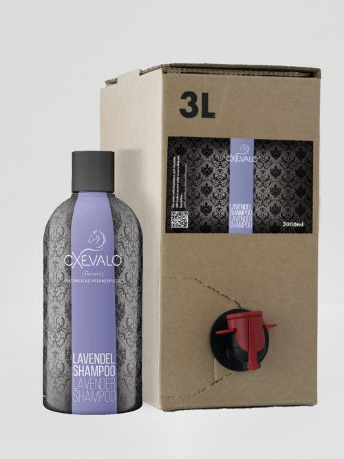 Lavendelshampoo 3L Nachfüllpackung + 500ml gratis