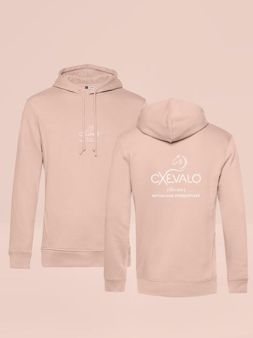 CXEVALO Organic Hoodie Rosé